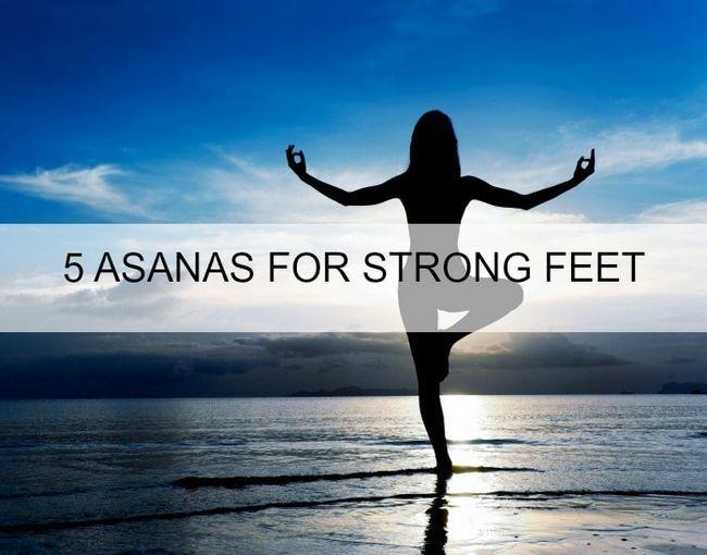 5 Meilleur yoga asanas pour les pieds et les chevilles solides