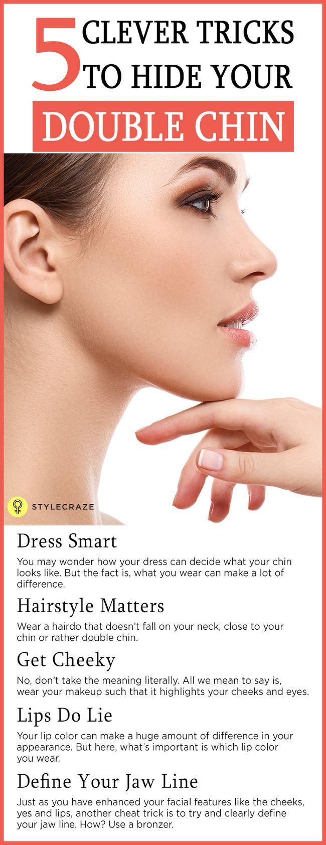5 Astuces de maquillage intelligent pour cacher votre double menton