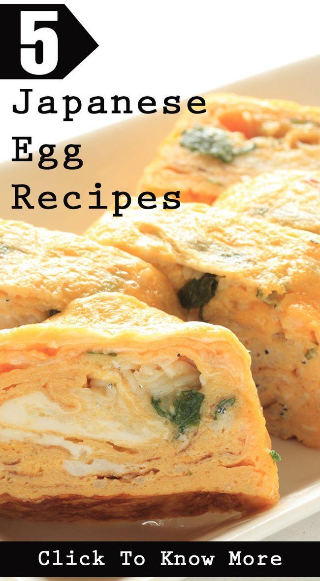 5 Délicieuses recettes d`œufs japonais vous devriez essayer aujourd`hui