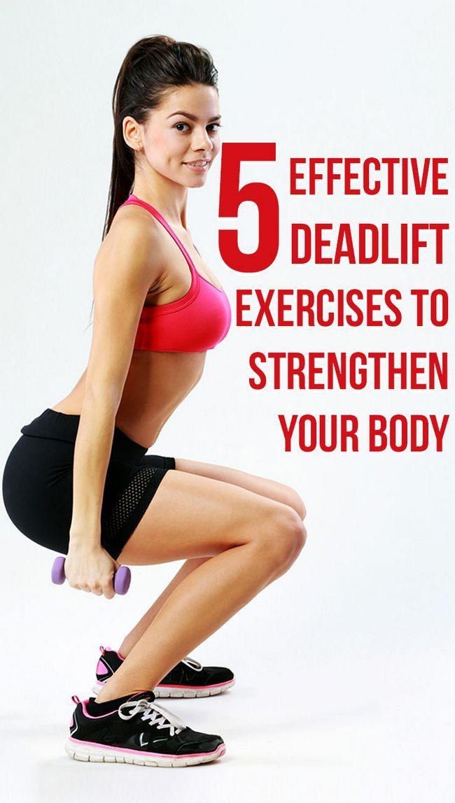 5 Exercices efficaces de renforcer votre deadlift pour le corps