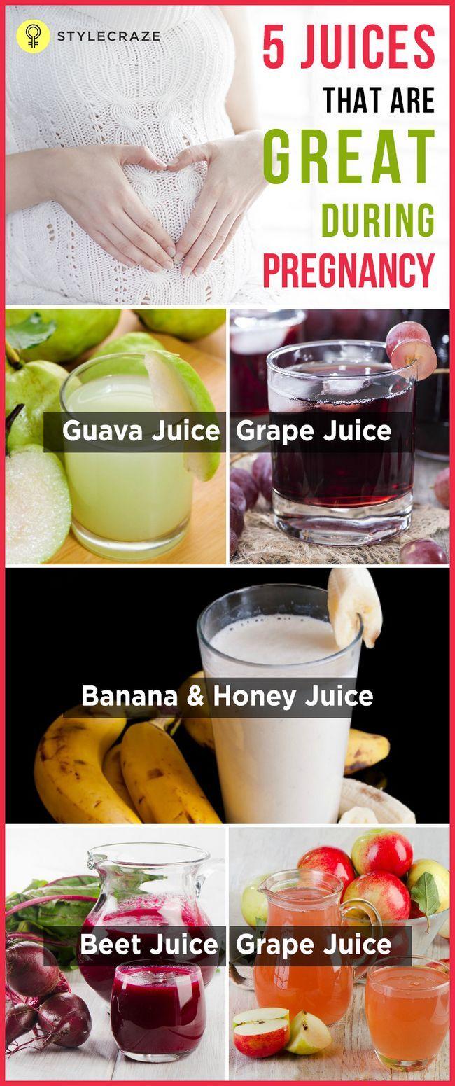 5 Jus de fruits sains à prendre pendant la grossesse