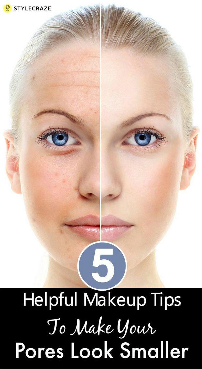 5 Conseils de maquillage pour faire vos utiles pores paraissent plus petites