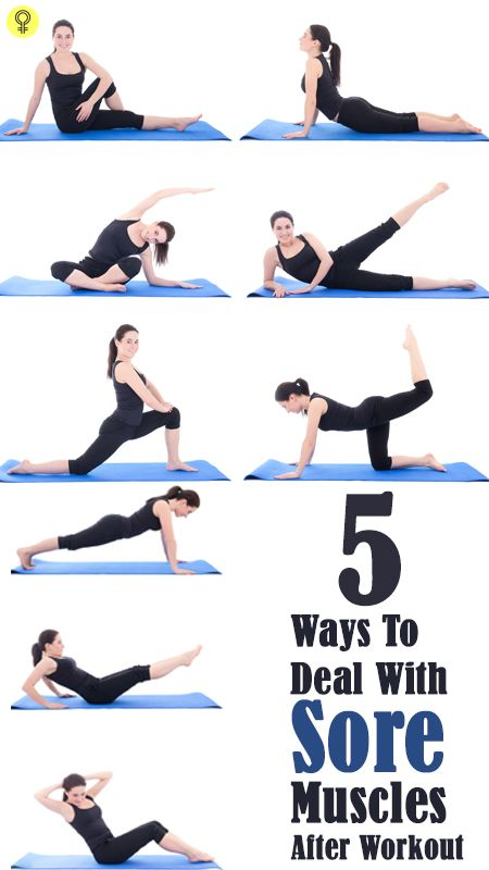 5 Façons simples pour traiter les douleurs musculaires après l`entraînement