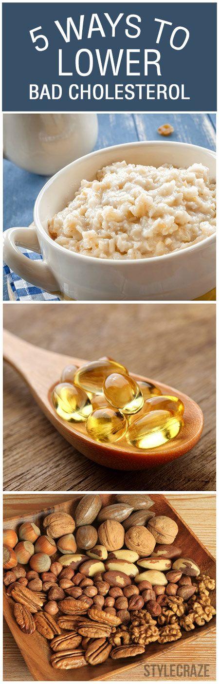 5 Façons simples pour réduire le mauvais cholestérol