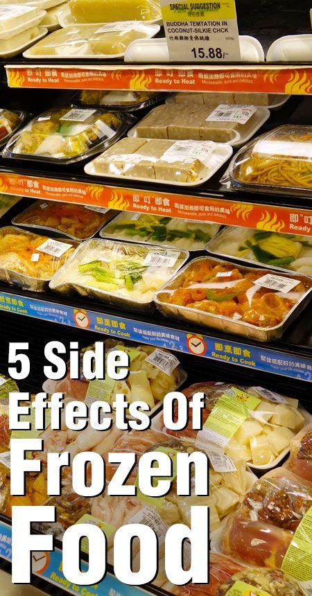 5 Effets secondaires inattendus des aliments surgelés