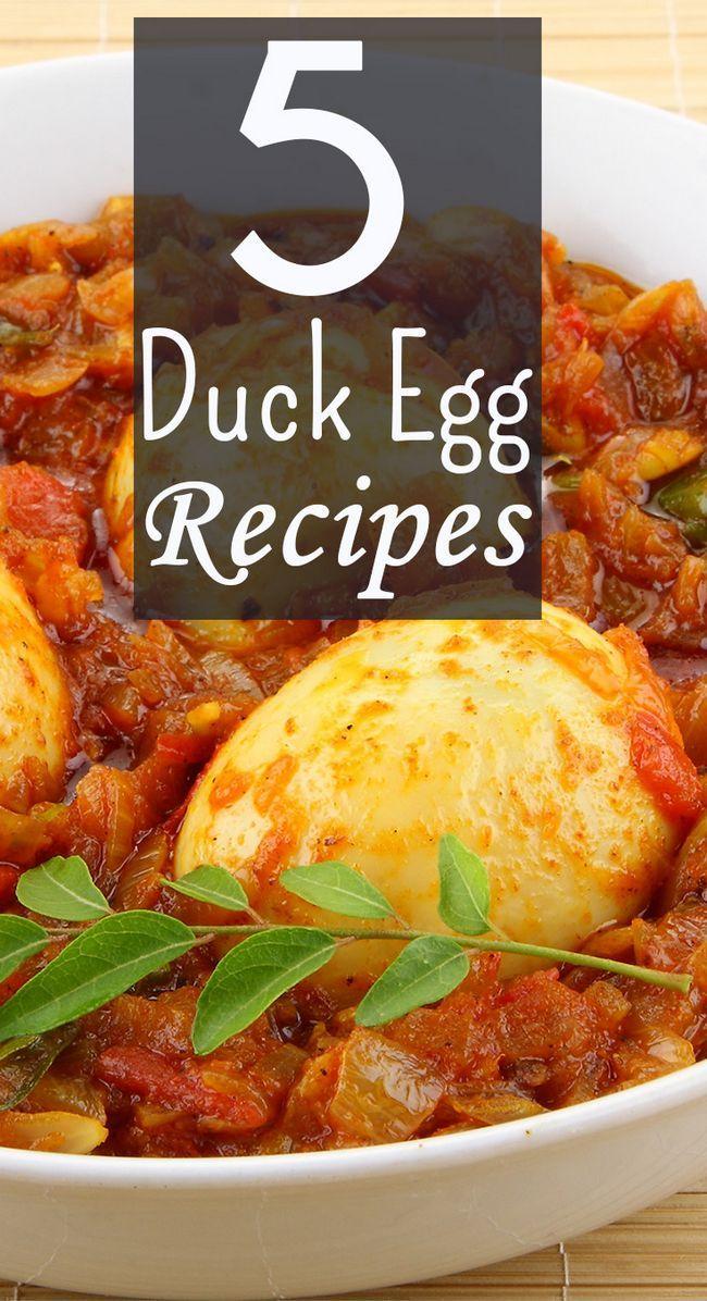 5 Recettes délicieuses d`œufs de canard pour essayer aujourd`hui