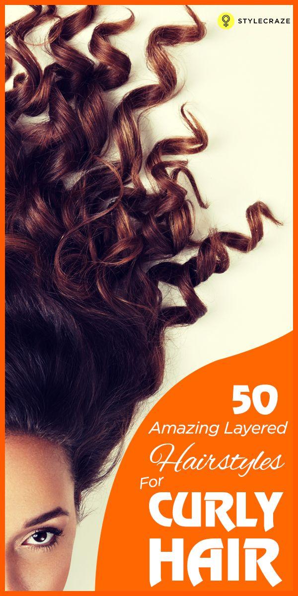 50 Coiffures en couches surprenantes pour les cheveux bouclés