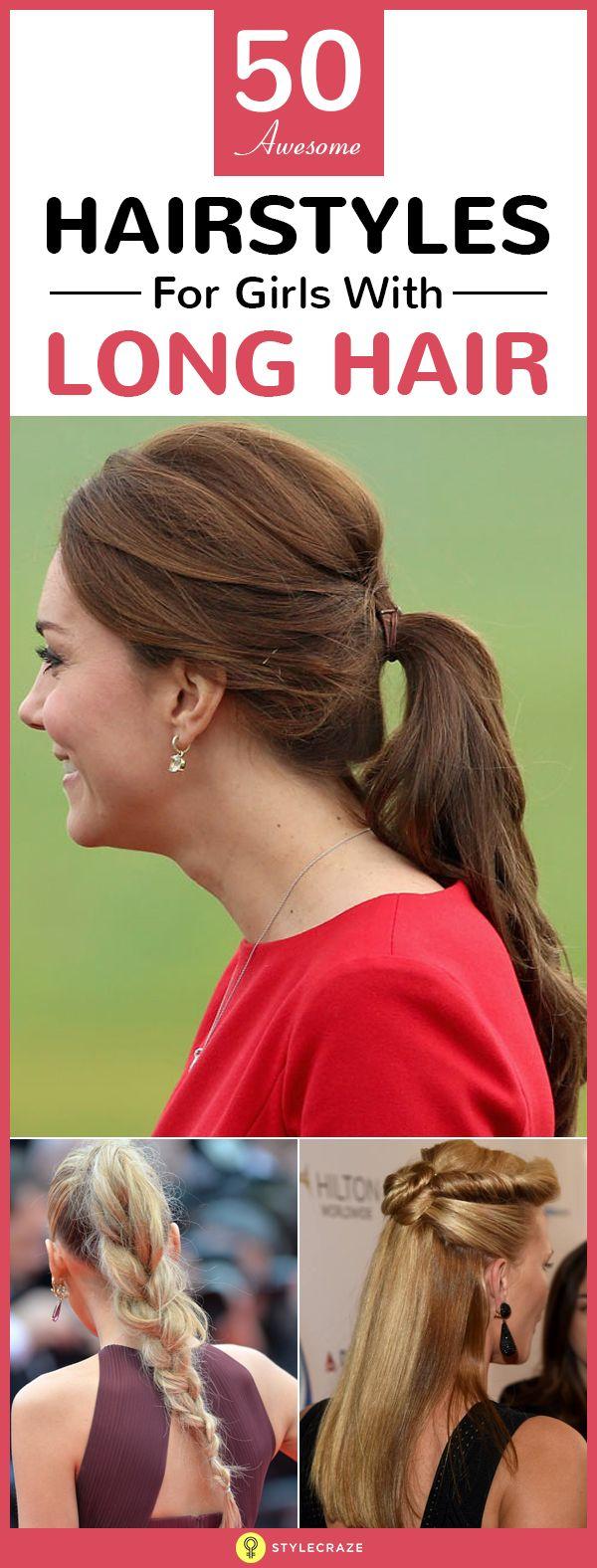 50 Coiffures impressionnantes pour les filles avec les cheveux longs