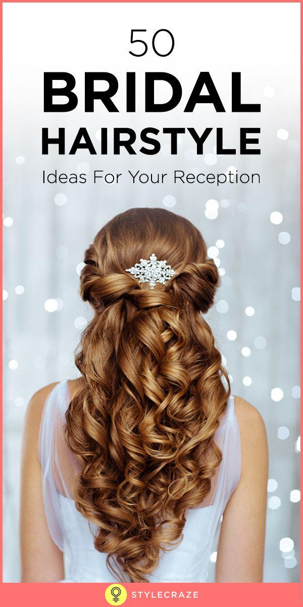 50 Idées de coiffure de mariée pour votre réception