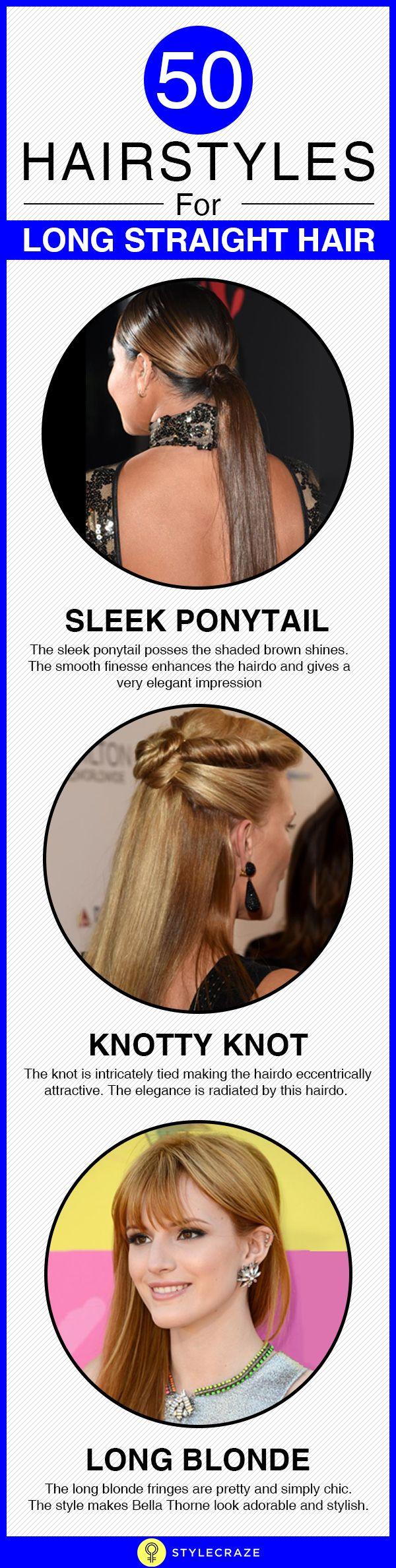 50 Coupes de cheveux pour les longs cheveux raides