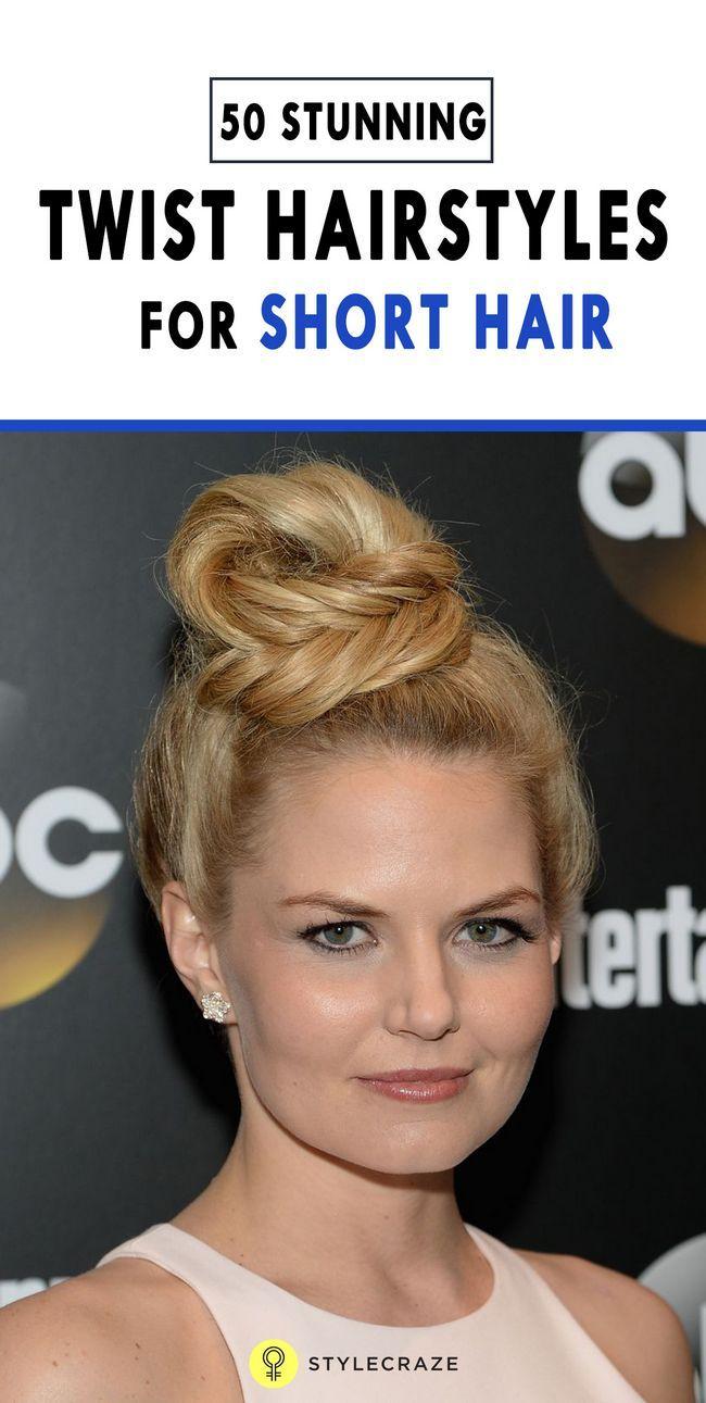 50 Coiffures de torsion superbes pour les cheveux courts