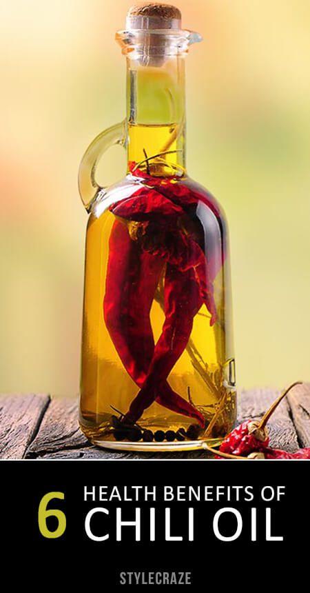6 Avantages pour la santé incroyable d`huile de chili