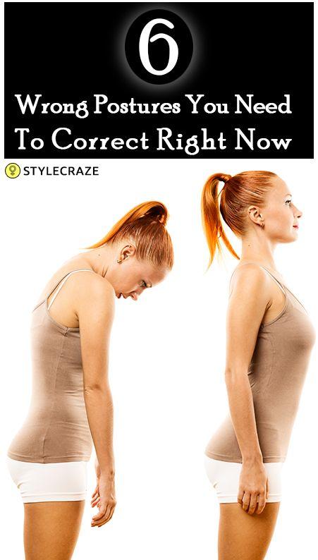 6 Postures mauvaises qui ruinent votre santé et comment les corriger