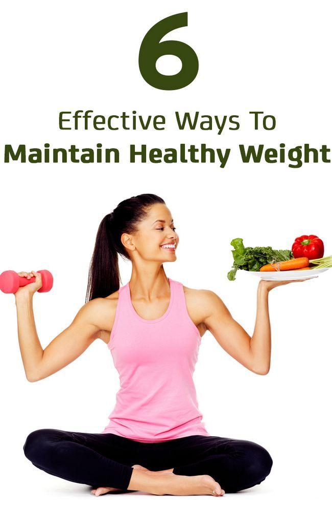 6 Des moyens efficaces pour maintenir un poids santé