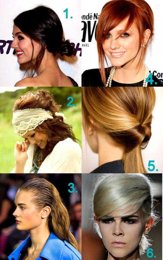 6 Tendances de cheveux que vous voulez essayer en 2013