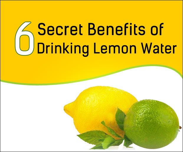 6 Avantages secrets de l`eau de citron potable