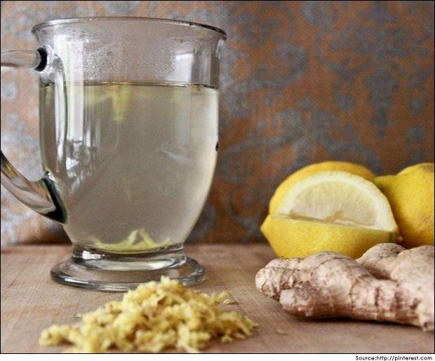 Avantages de l`eau potable au citron