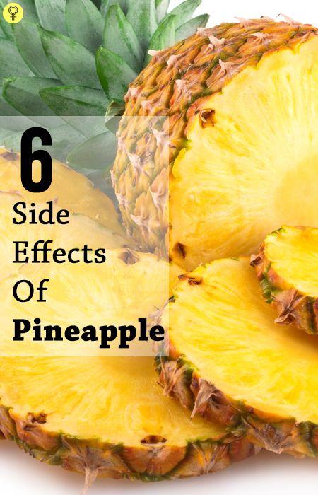 6 Les effets secondaires graves d`ananas