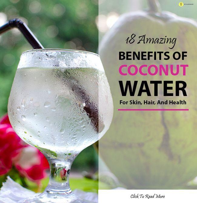 60 Avantages étonnants d`eau de noix de coco (Nariyal pani) pour la peau et la santé