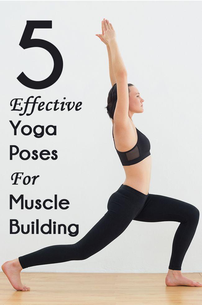 7 Yoga efficace pose pour le renforcement musculaire