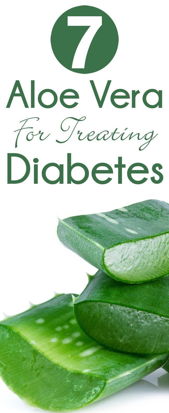 7 Bonnes raisons d`utiliser l`aloe vera pour le traitement du diabète