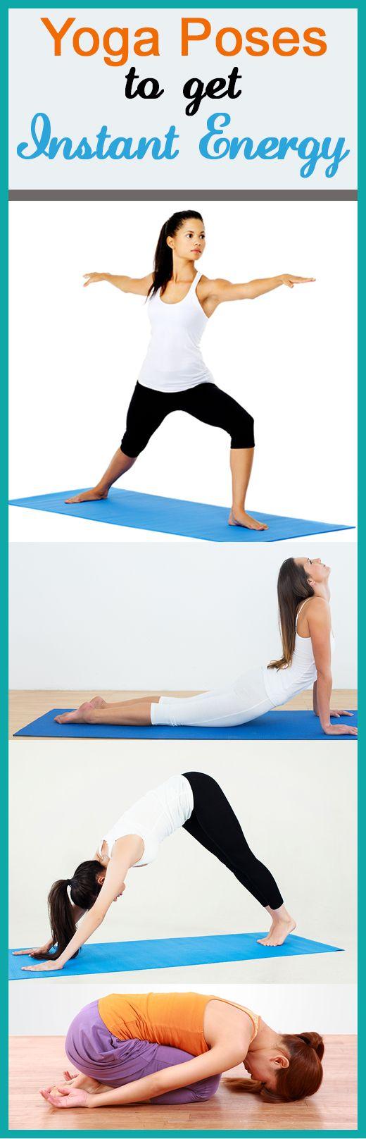 7 Asanas de yoga pour obtenir l`énergie instantanée