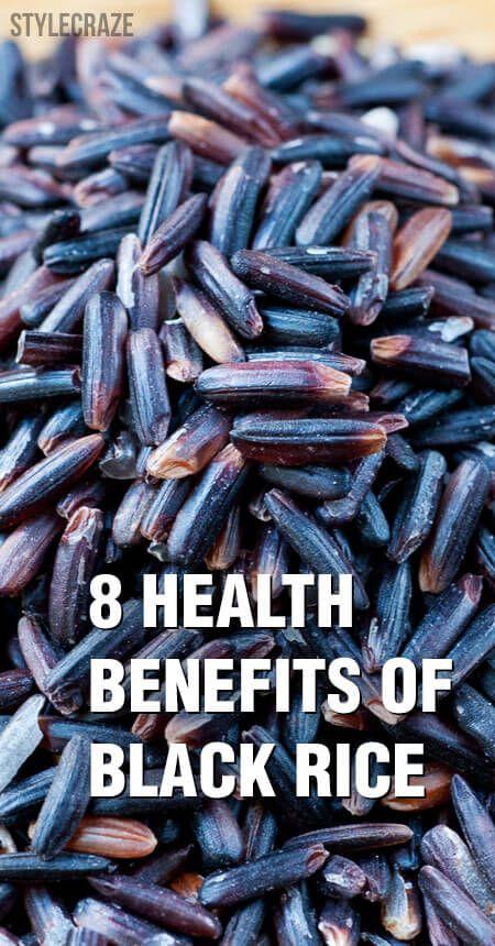8 Avantages pour la santé incroyable de riz noir