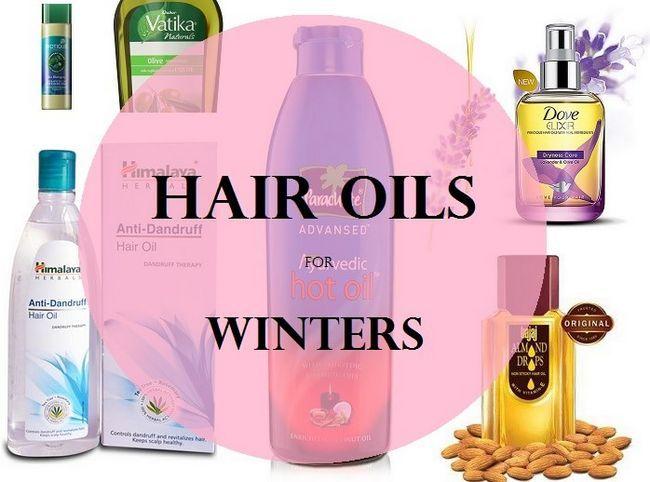 8 Meilleures huiles de cheveux pour la saison d`hiver en Inde