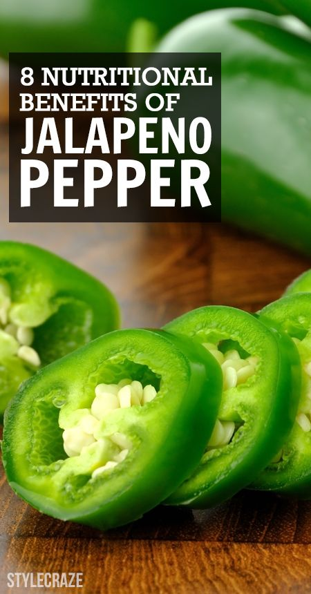 8 Avantages nutritionnels de piment jalapeno
