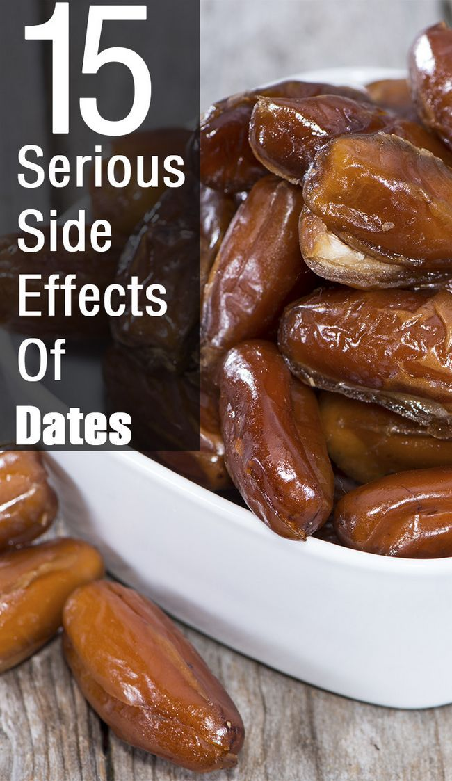 8 Les effets secondaires graves de dates