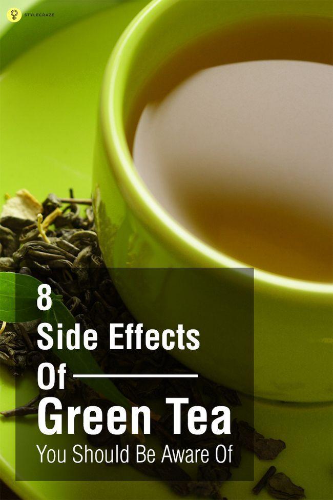 8 Les effets secondaires du thé vert vous devriez être au courant