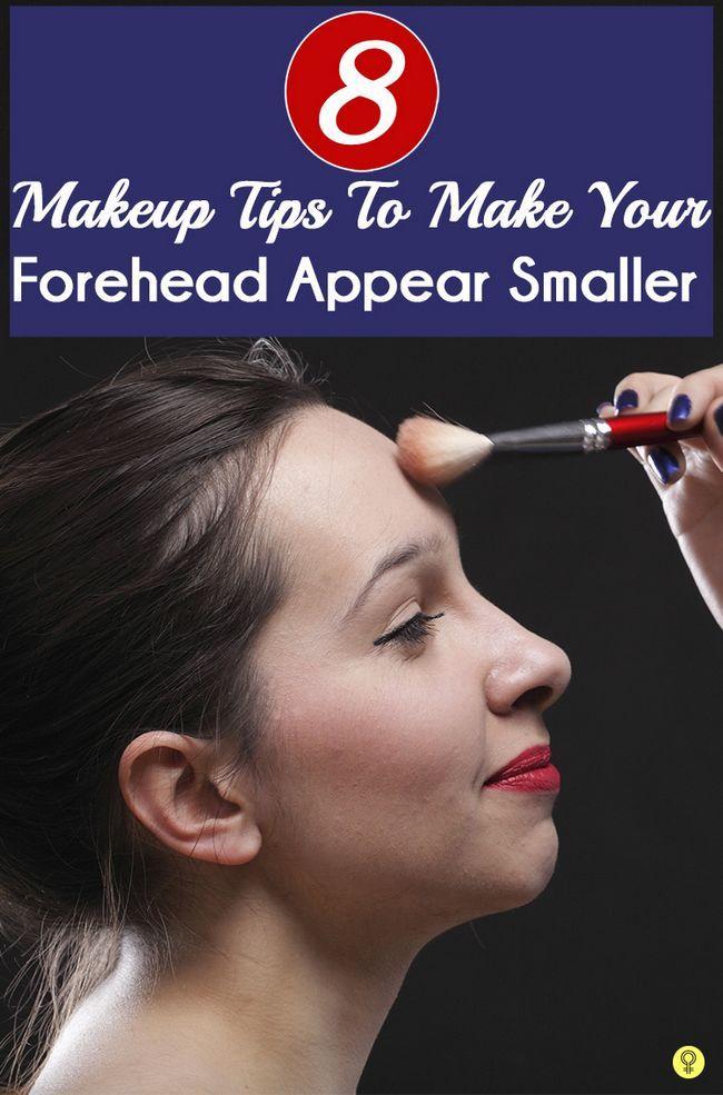 8 Conseils de maquillage pour rendre votre front apparaissent plus petits