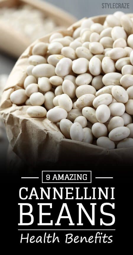 9 Avantages pour la santé incroyable de haricots cannellini