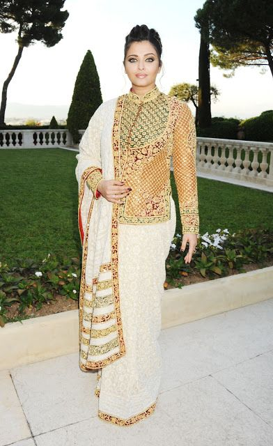 Aishwarya Rai à Cannes 2012: robe, maquillage répartition