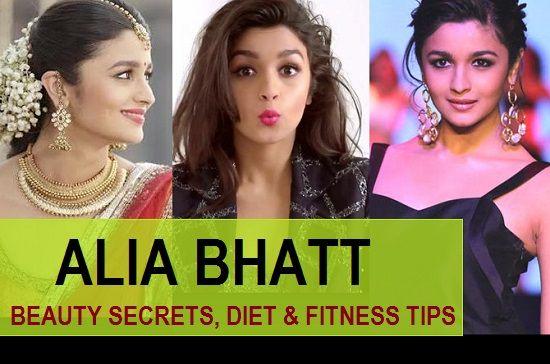 Secrets de beauté Alia bhatt, régime alimentaire et des conseils de remise en forme