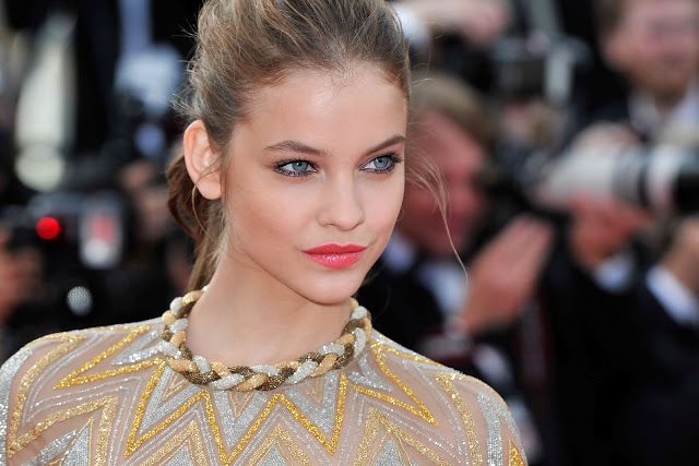 Barbara palvin Cannes 2012: robe, cheveux, maquillage