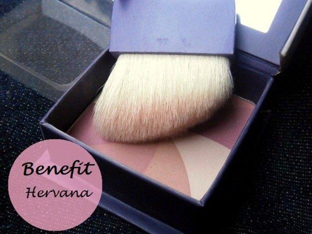 Profitez hervana boxed blush poudre pour le visage: nuanciers et examen