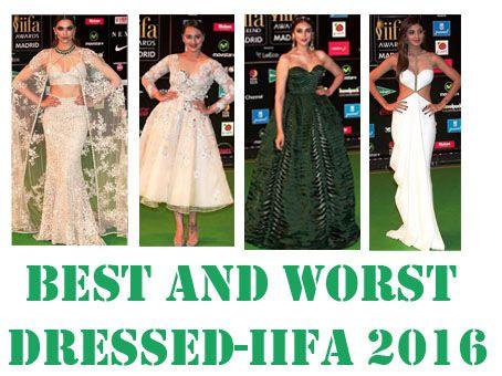 Actrices les meilleurs et les plus mal habillé: IIFA 2016 tapis rouge