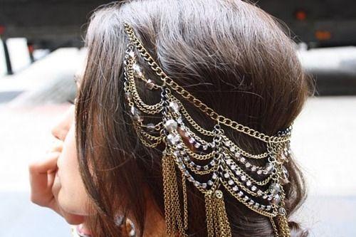 Cirque cheveux Bohême