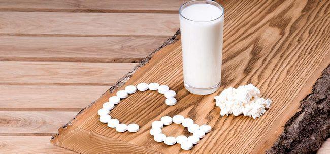La carence en calcium - causes, symptômes et traitement