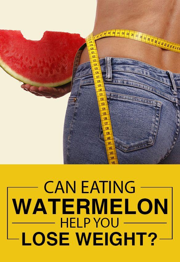 Peut-elle aider la pastèque manger à perdre du poids?