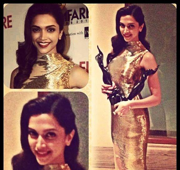Deepika padukone au prix de Filmfare 2014: mieux habillé ou habillé poubelle?
