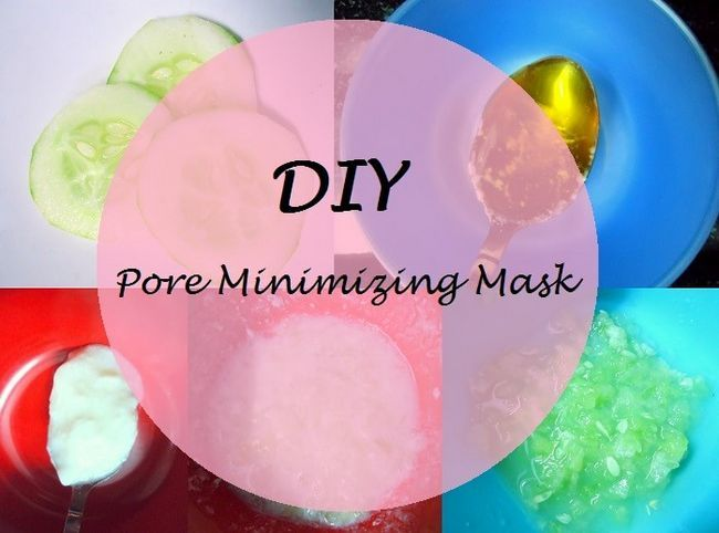 Tutoriel BRICOLAGE: comment faire pores réduisant au minimum un masque facial maison