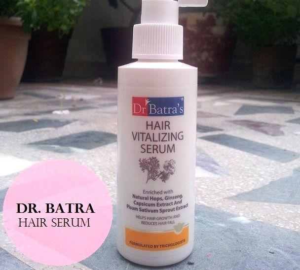 Cheveux sérum vitalisant du Dr Batra: examen, prix