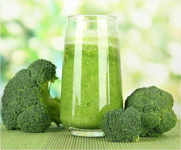 Recette facile et bienfaits du jus de brocoli