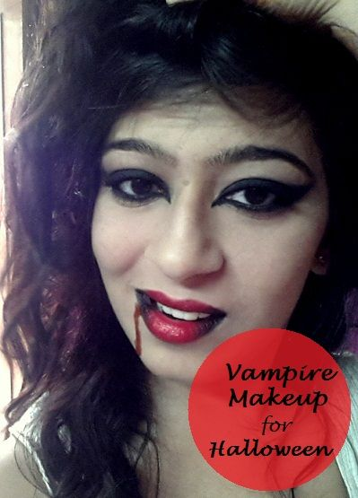 Facile tutoriel maquillage halloween vampire pour les débutants
