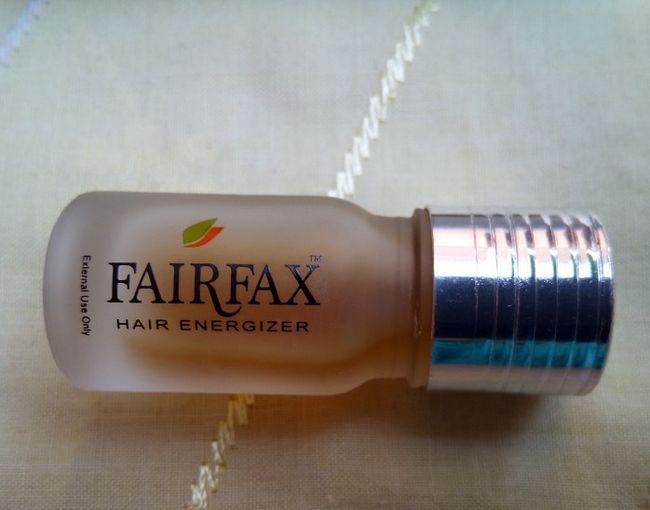 Cheveux Fairfax Energizer: examen, comment utiliser