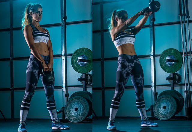 Haut entraînement du corps à brûler les graisses