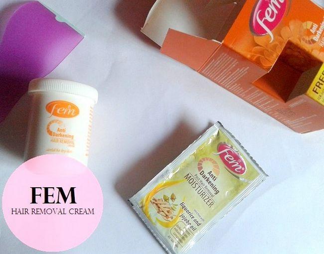 Crème épilation brumisation Anti fem examen: peau sèche