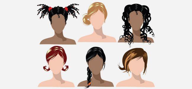 Conseils coiffures pour différents types de cheveux